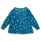 Floral Mischief Top for Girls