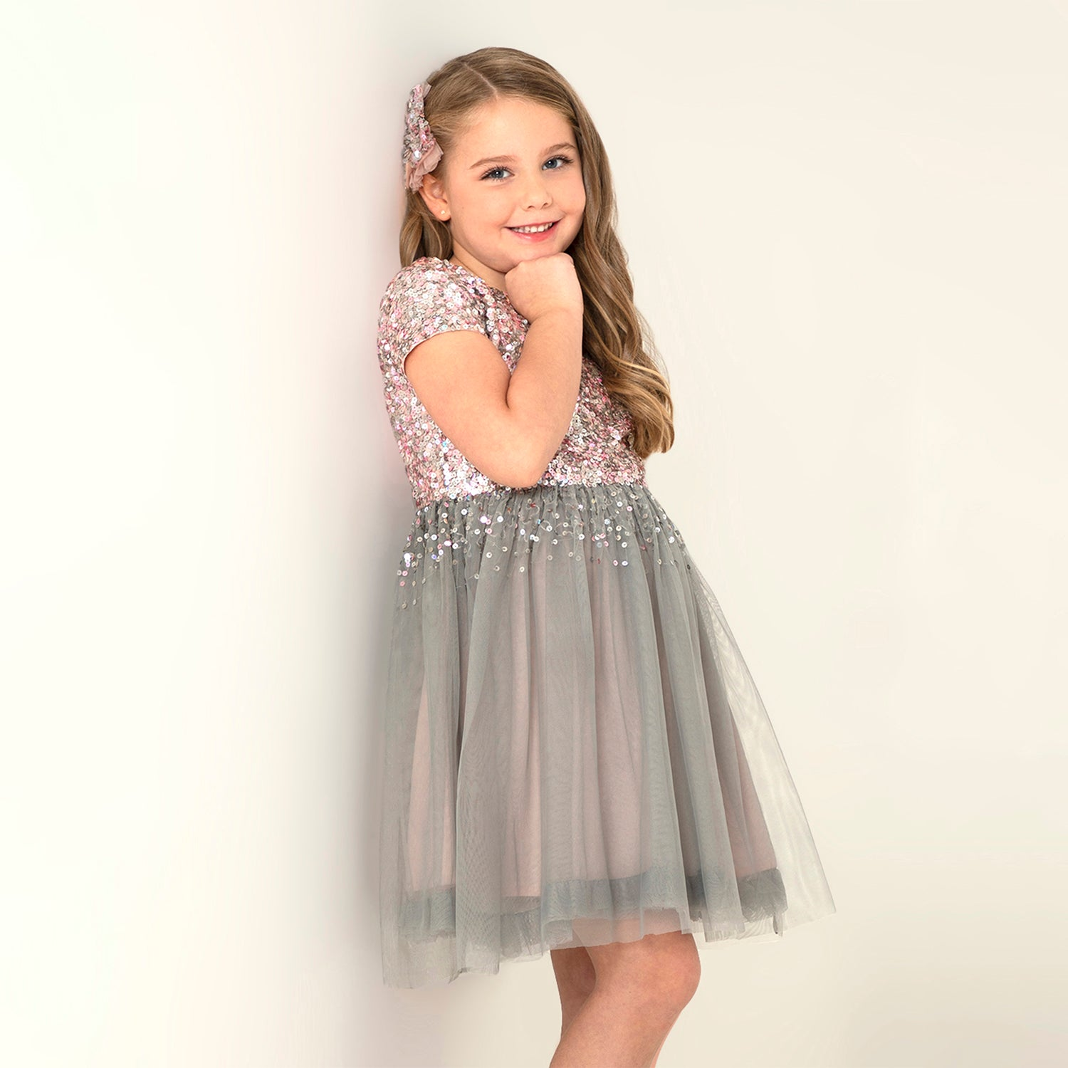 Falling Star Dress for Girls