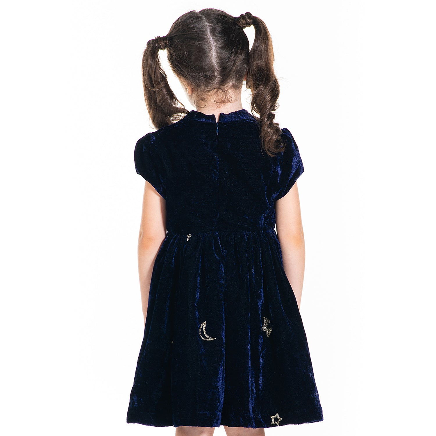 Velvet-Fit-and-Flare-A-Line-Party-Dress