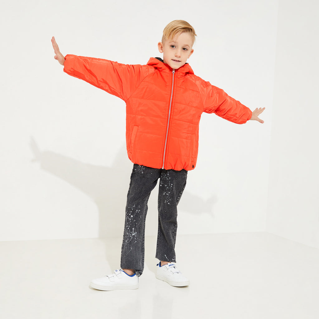 Classic Hooded Reversible jacket