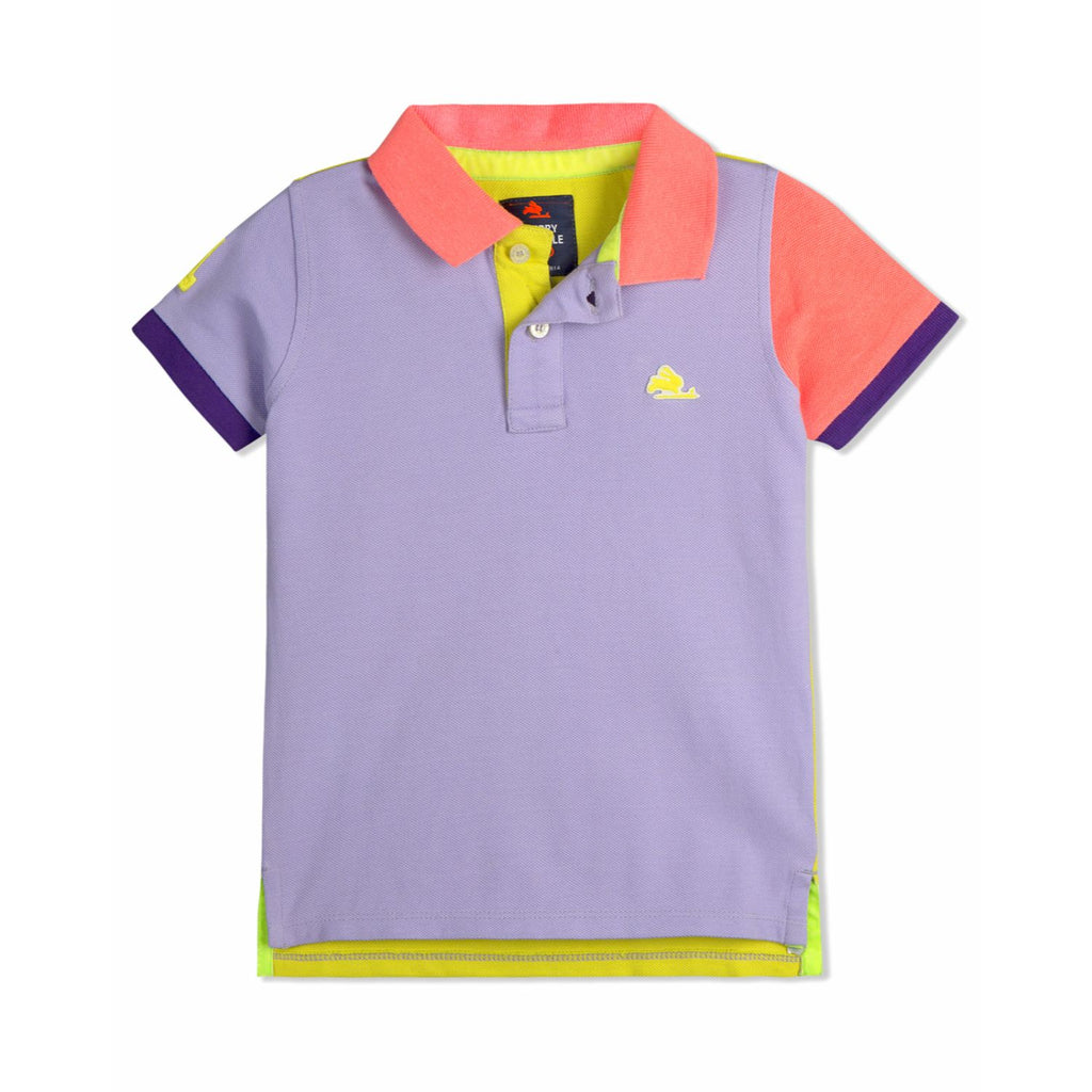 Tennis Pique Polo for Boys