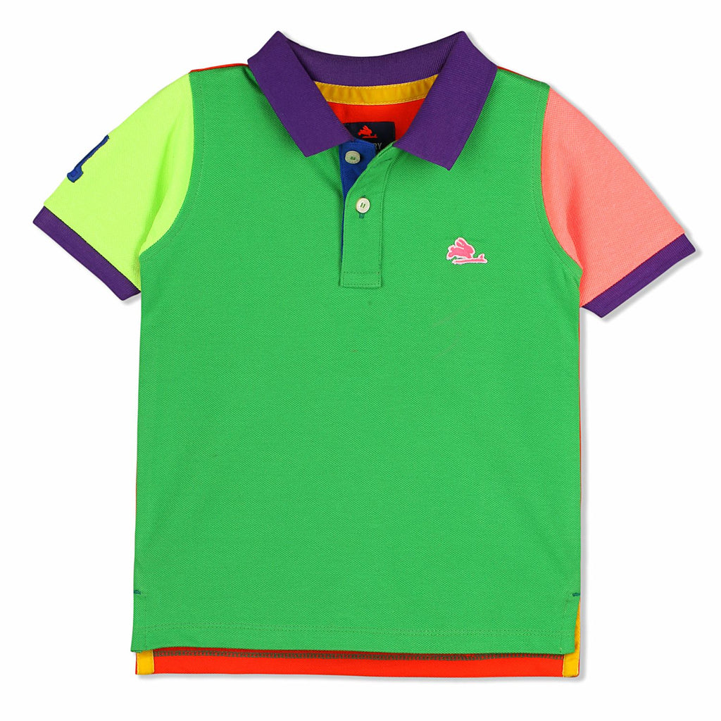 Color Flowing Polo for Boys