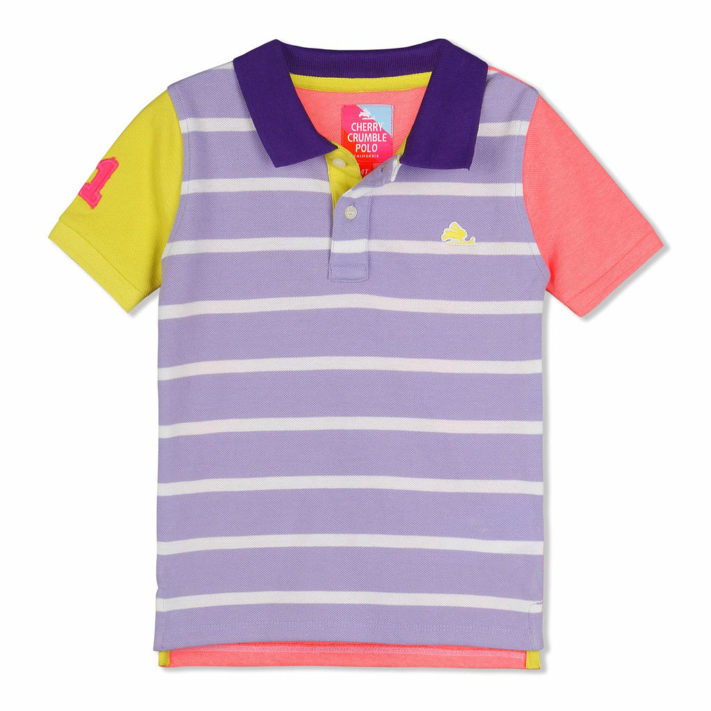 Natural Stripes Polo for Boys