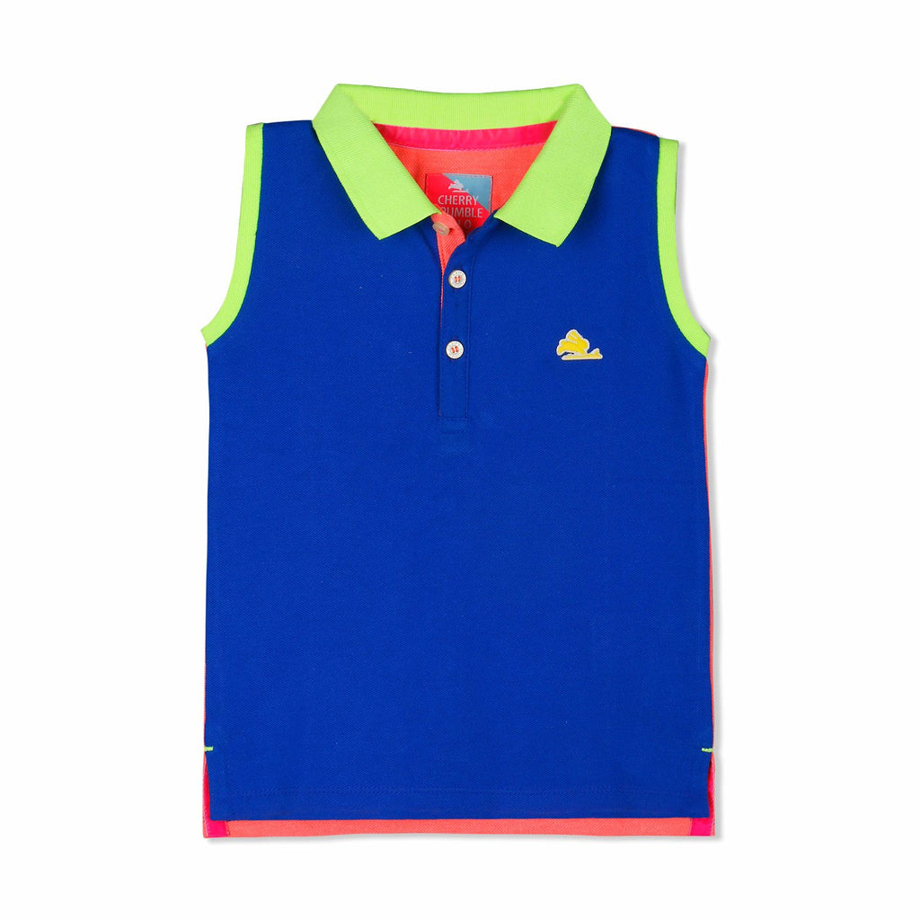 Sleeveless Polo for Girls