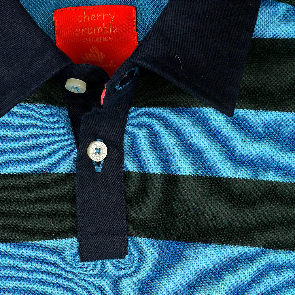 Sporty Breathable Polo for Boys