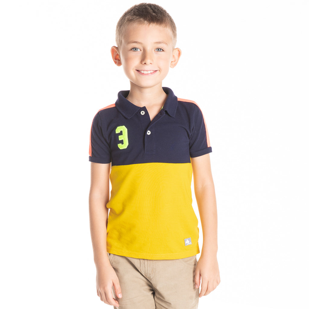 Sleek Polo for Boys