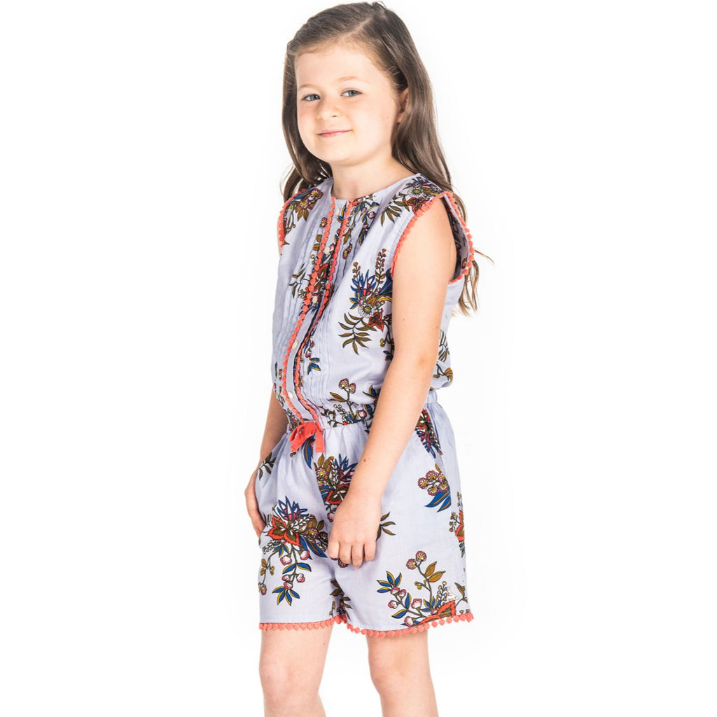 Cute Bow Playsuit for Girls