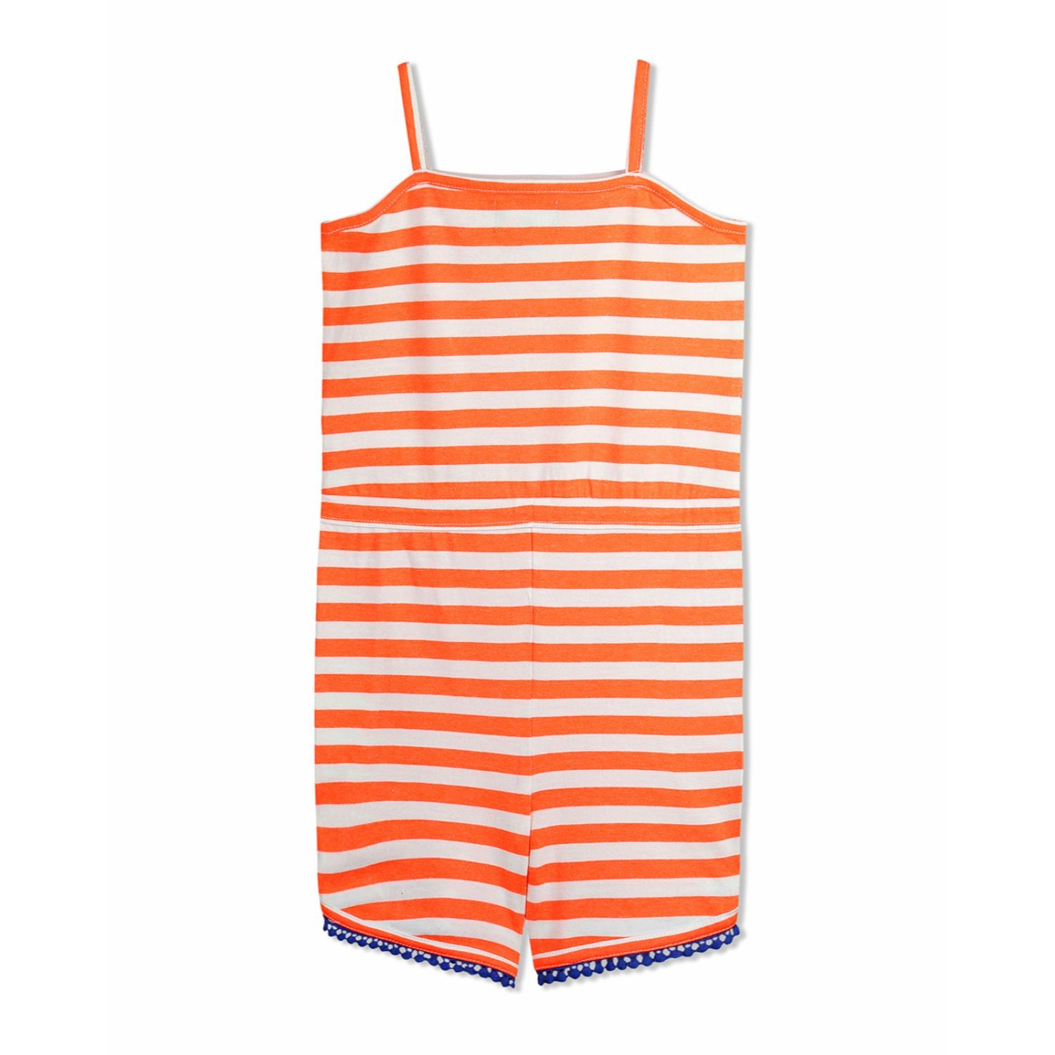 Casual Stripe Playsuit for Girls