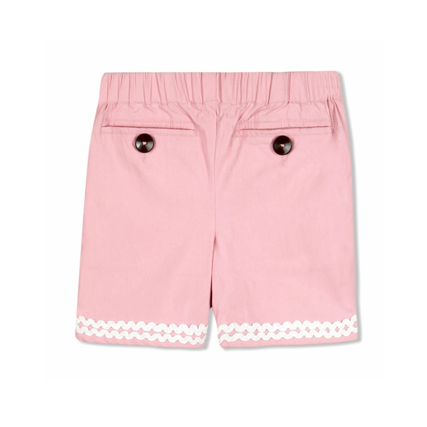 Lace Trim Shorts for Girls