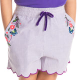 Flower Power Shorts for Girls