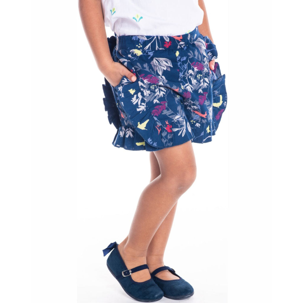 Blooming Shorts for Girls