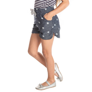 Polka Shorts for Girls
