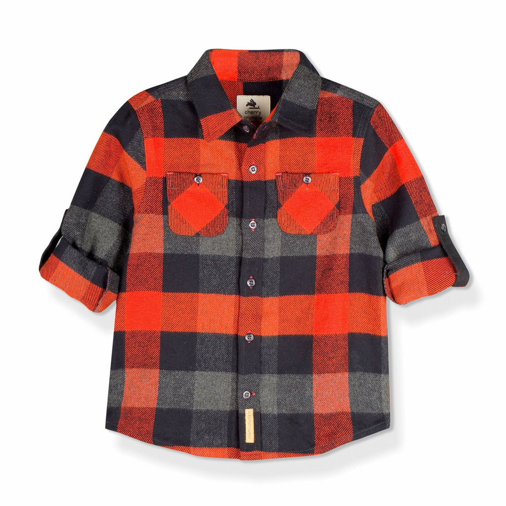 Cotton Flannel Shirt for kids
