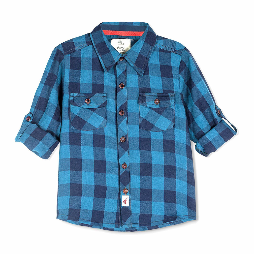 Classic Poplin Shirt for Boys