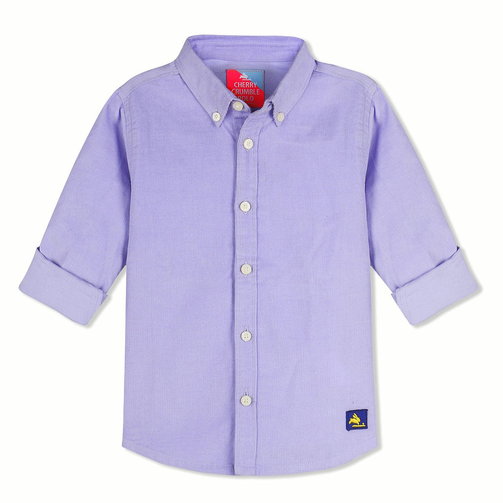 Unisex Classic Corduroy Shirt for kids