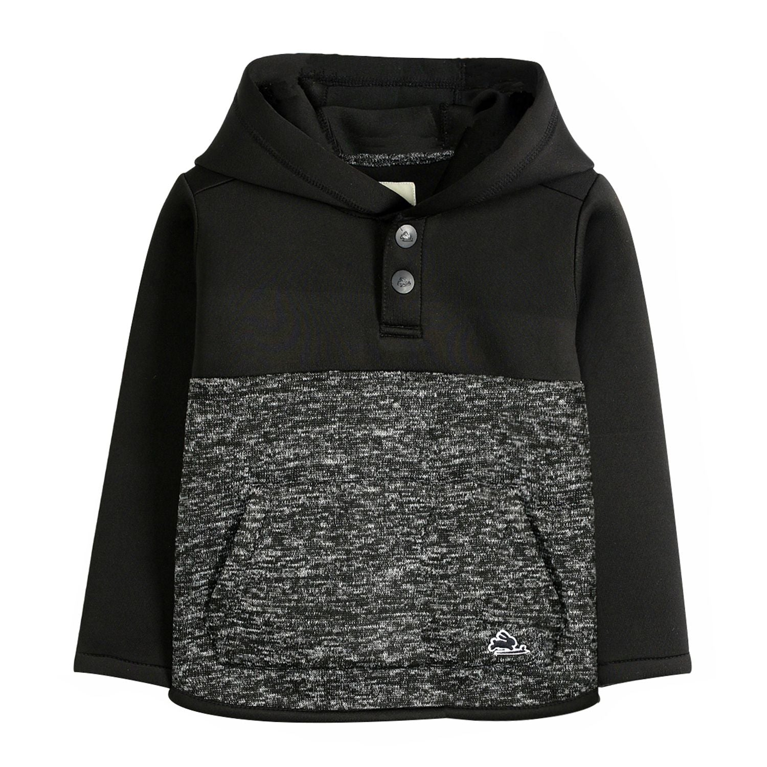 Dual Shade Stretch Hoodie for Boys