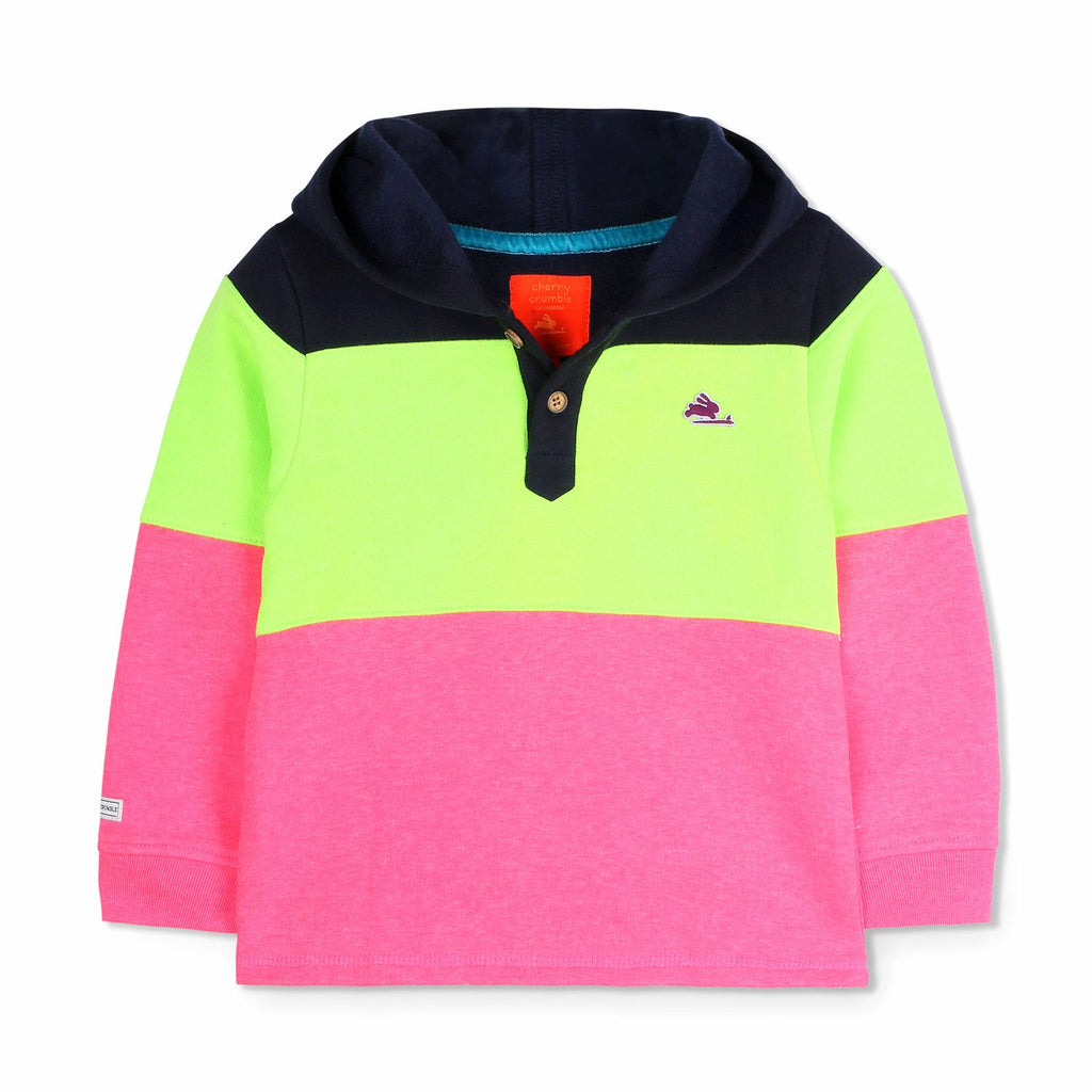Crisp Hooded Sweatshirt for Boys