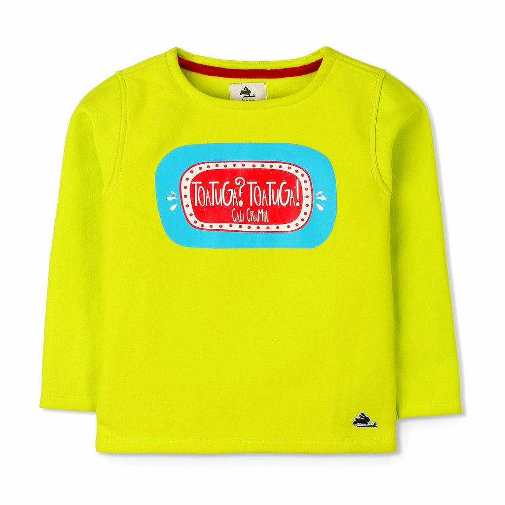 Spanish Tortuga Sweatshirt for Boys