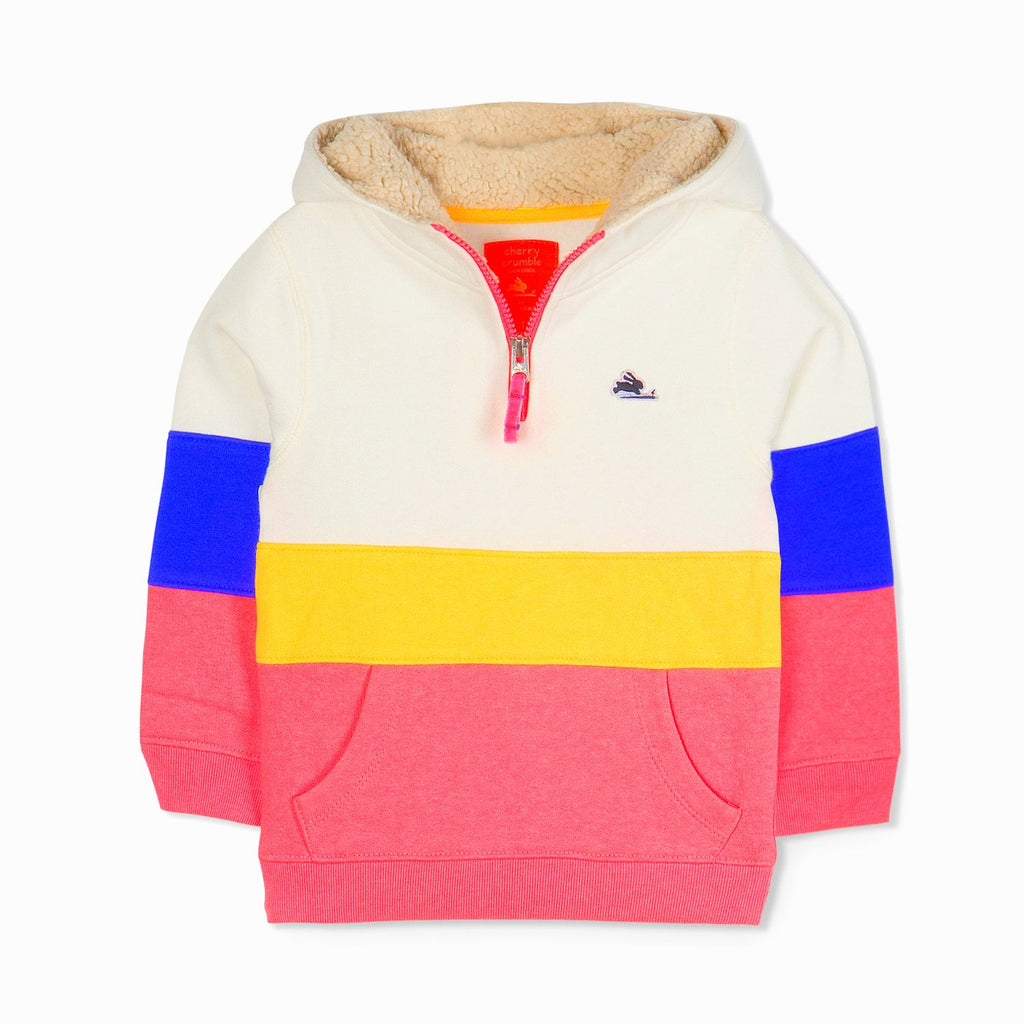 Half Zip Urban hoodie for Boys