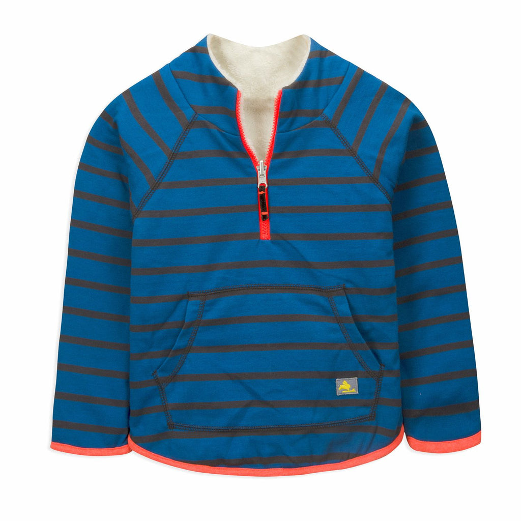 Stripy Reversible Sweatshirt for kids