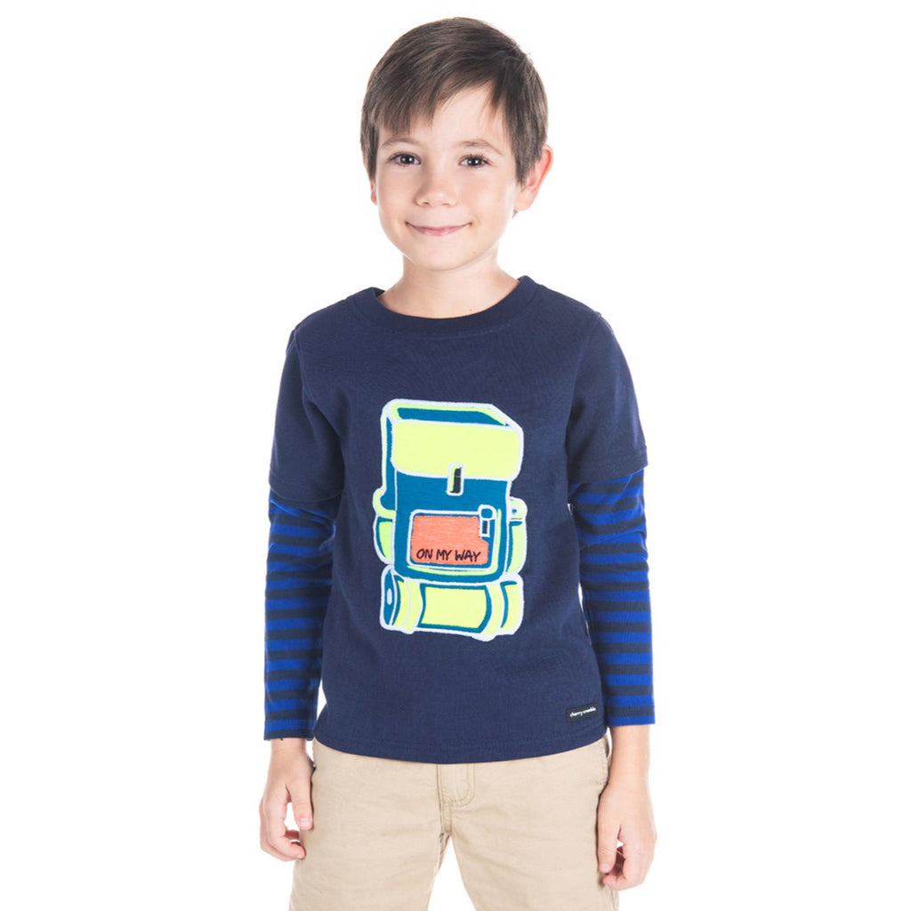 Backpack Sweatshirt for Boys