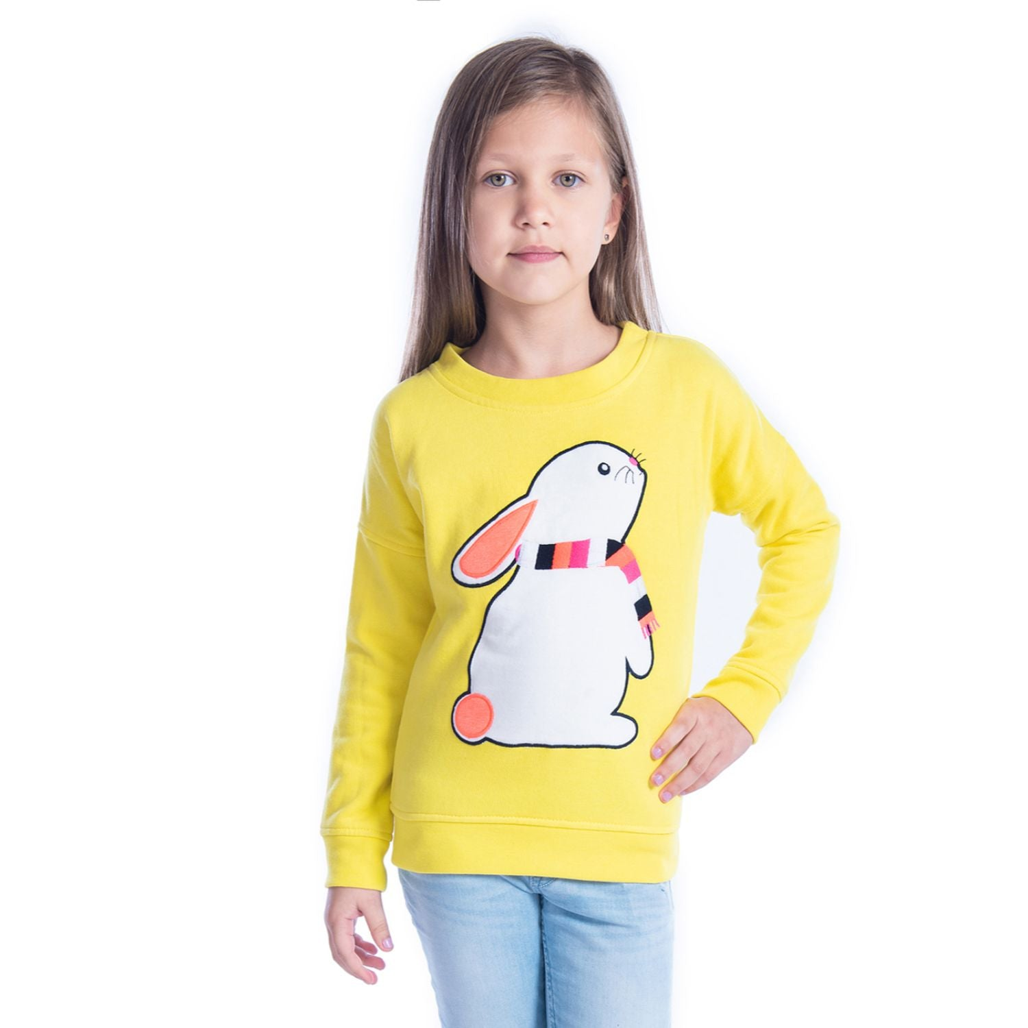 Bunny Sweatshirt for Girls