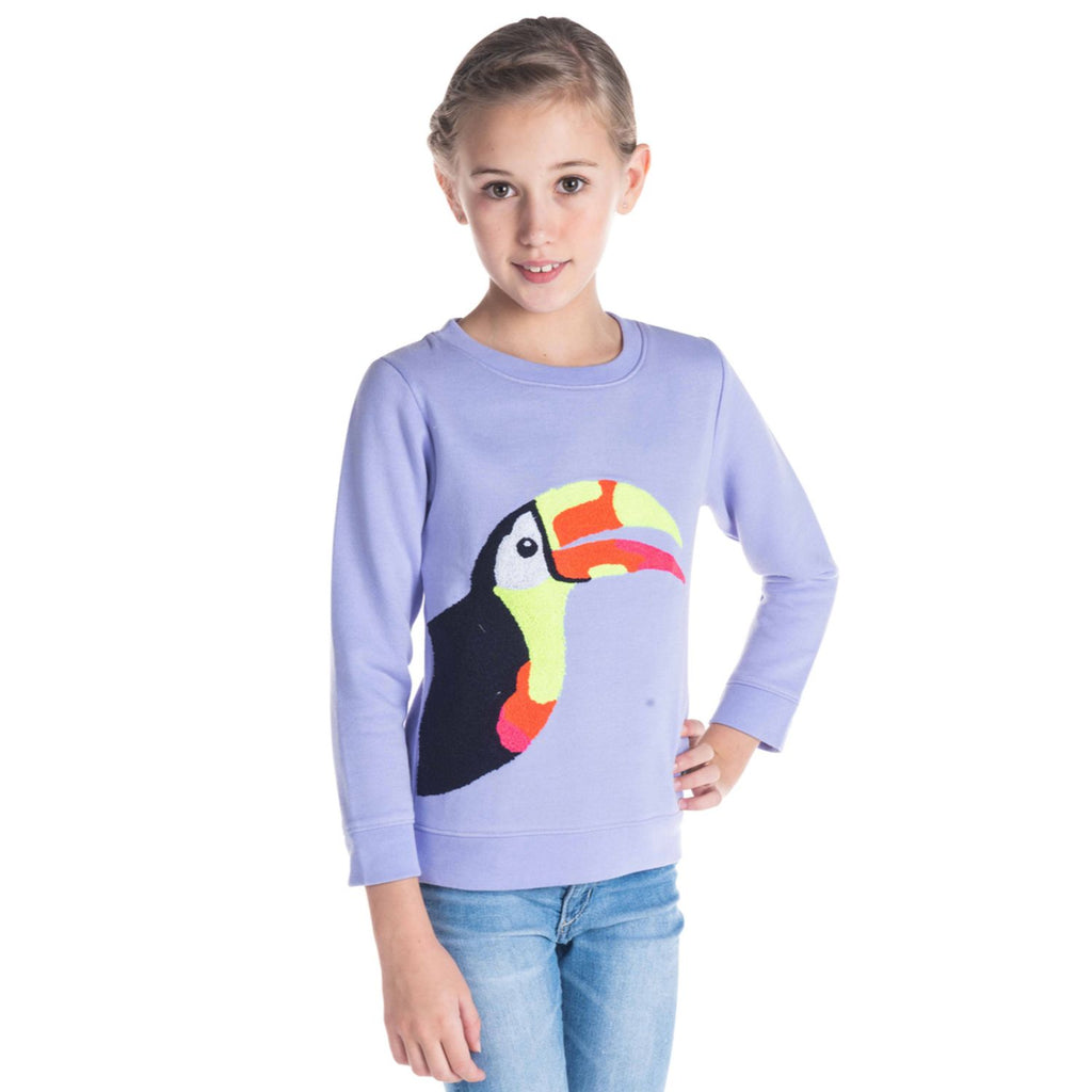 Daffodil Sweatshirt for Girls