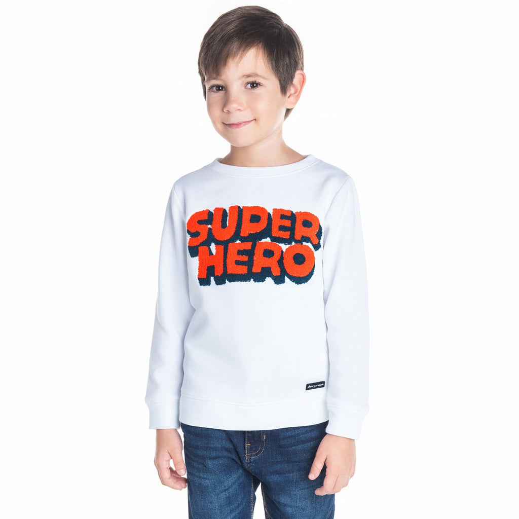 Super Hero Sweatshirt for Boys