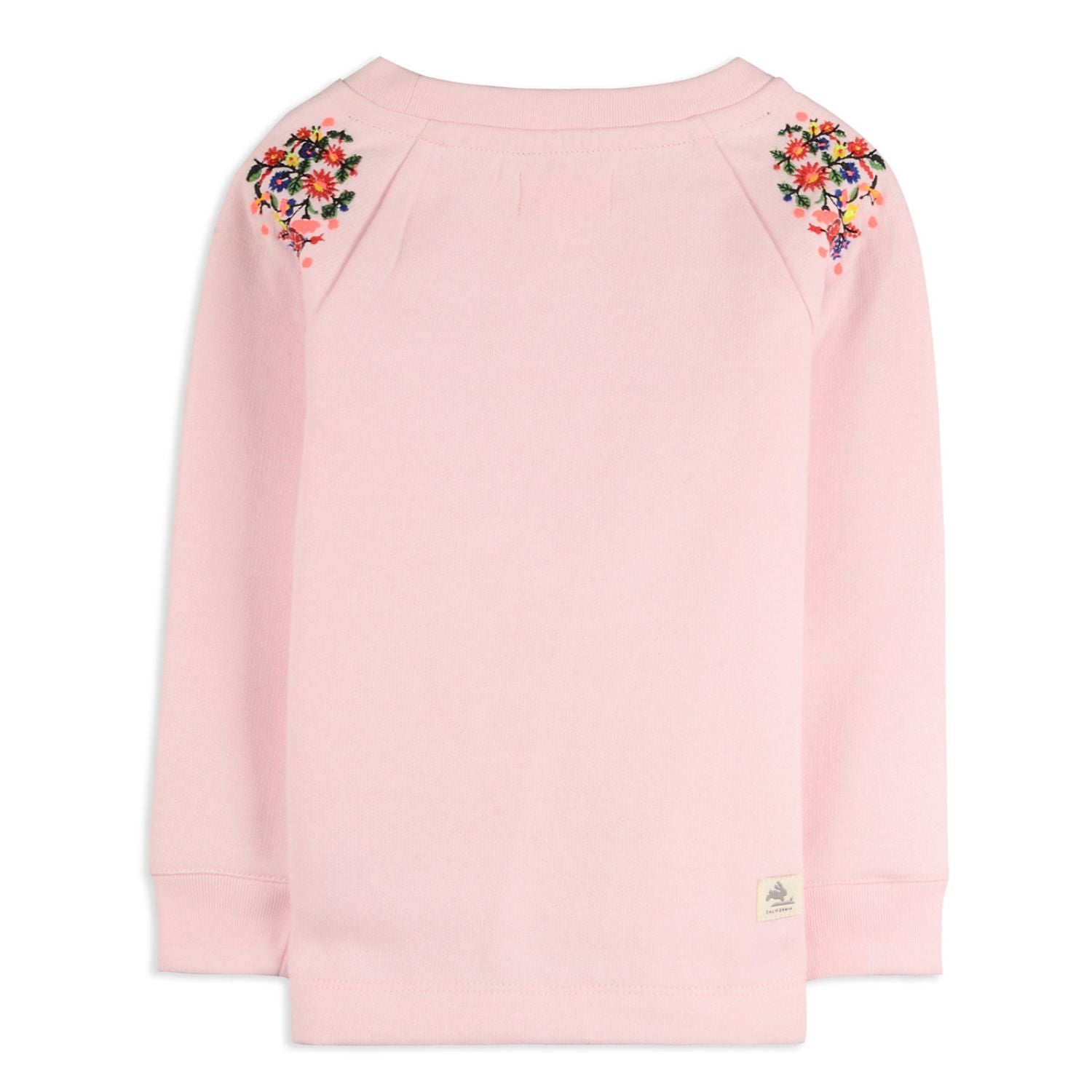 Tiny Leaf Sweatshirt for Girls
