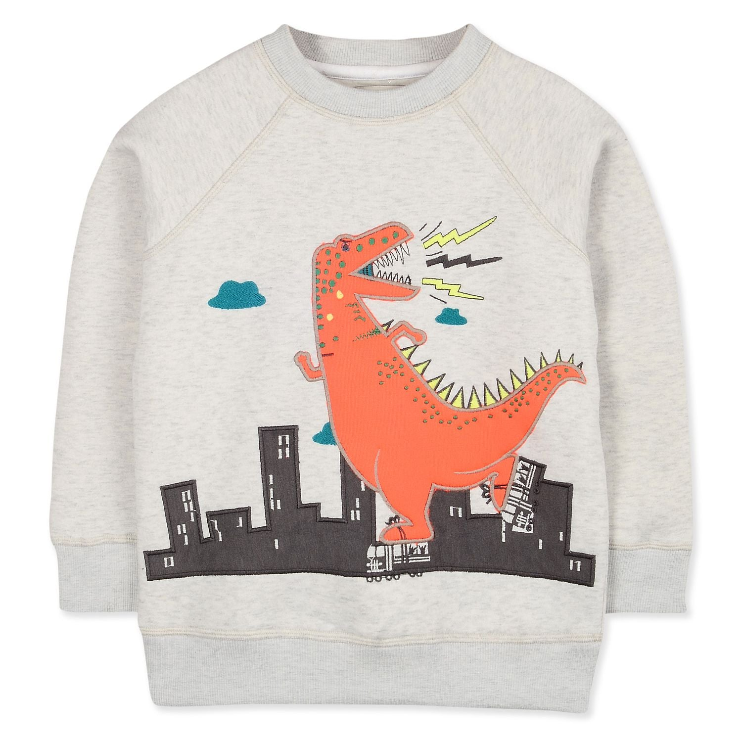 Singing Dino Sweatshirt for Boys