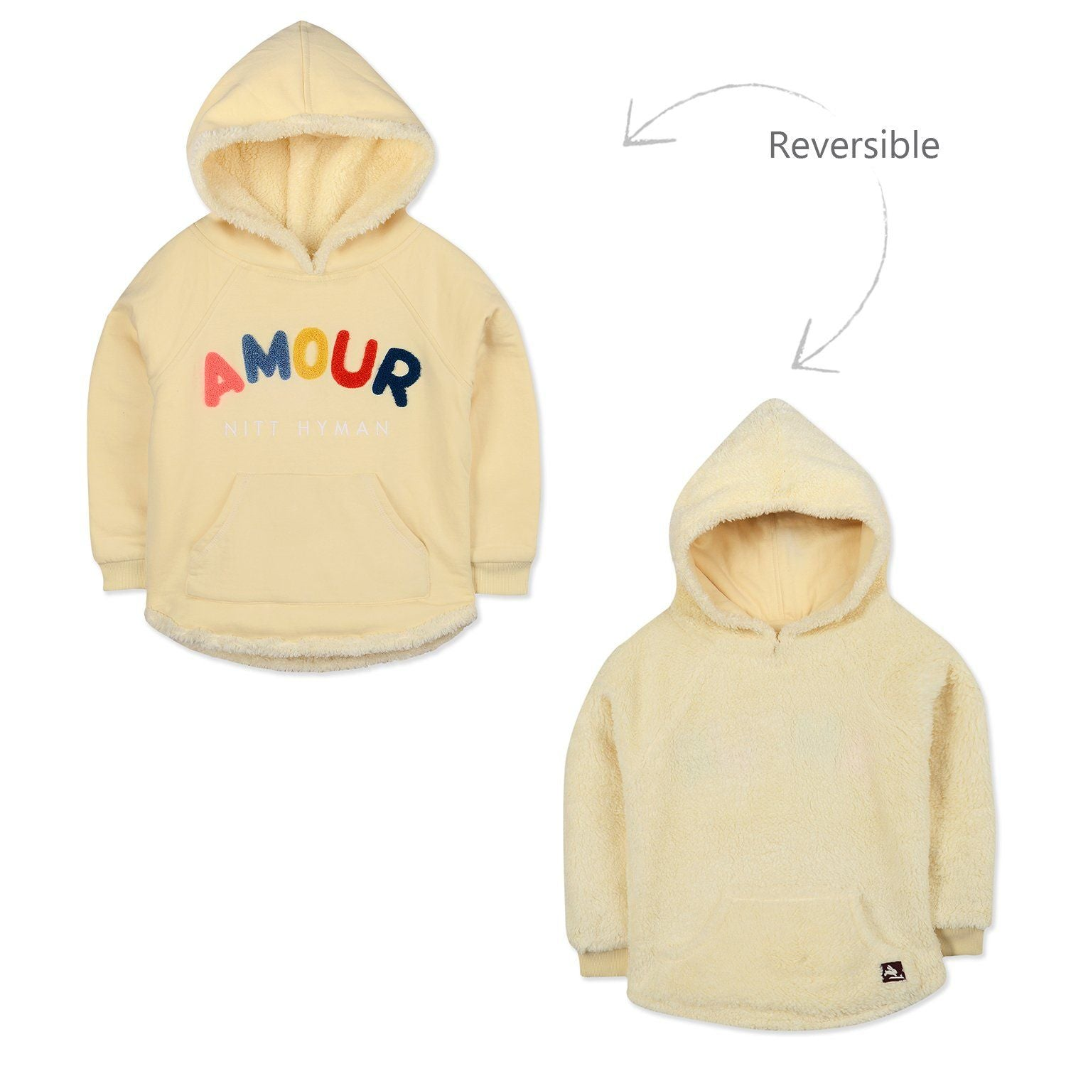 Parisian Reversible Sweatshirt for kids
