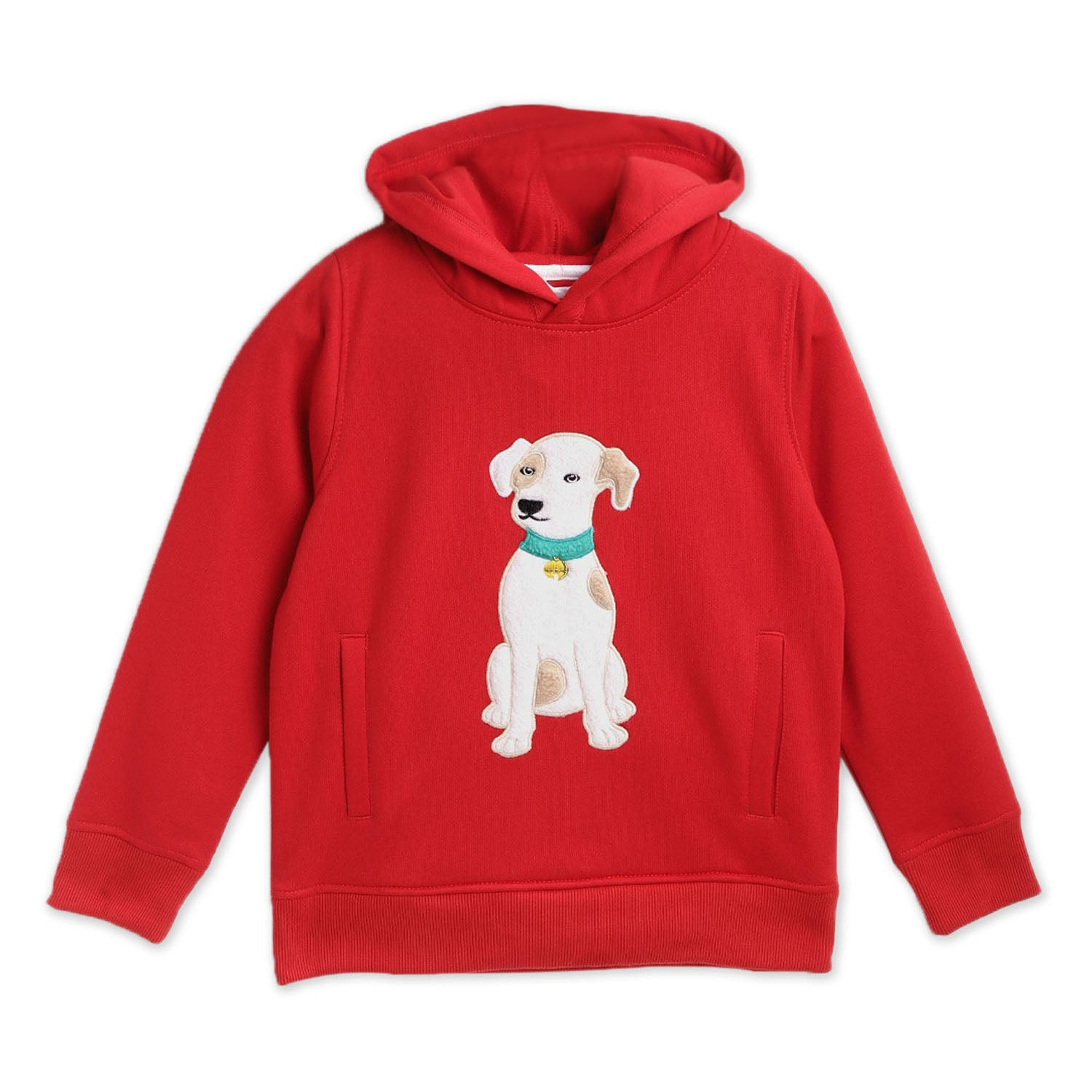 Animal-Applique-Hoodie-Sweatshirt