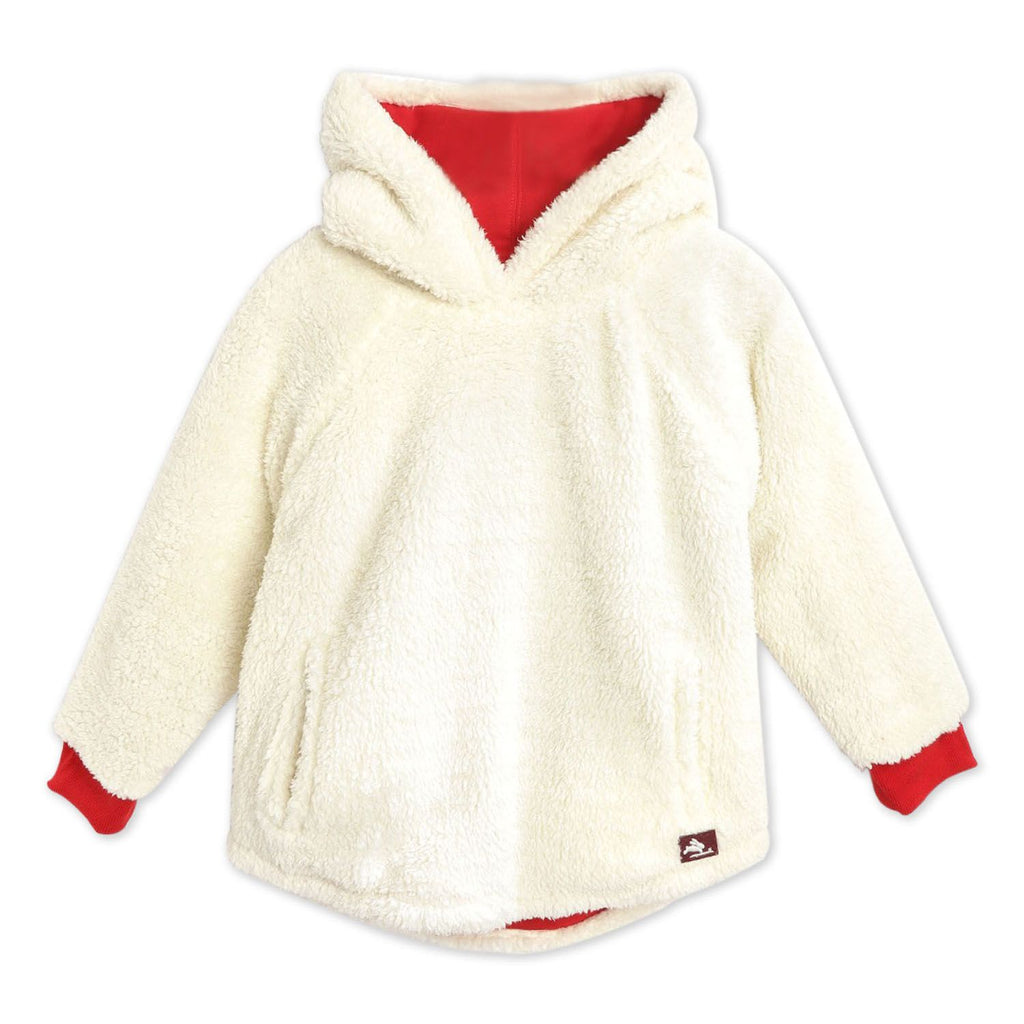 Riding Applique Sweatshirt with Face Mask