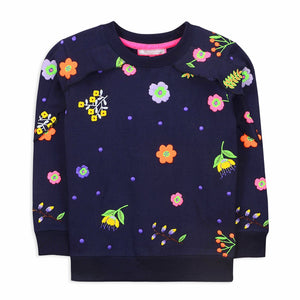 Floral Sweatshirt for Girls