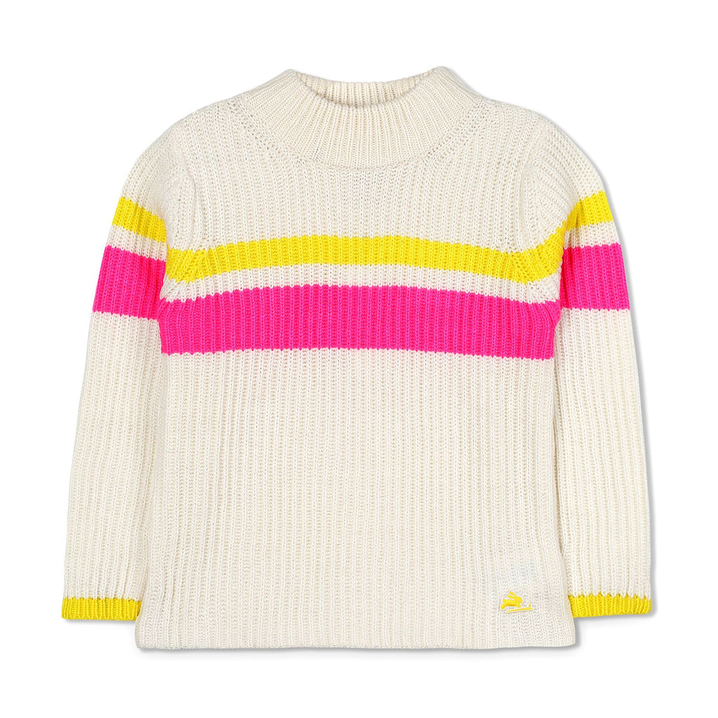 Rib Texture Knit Sweater for Boys