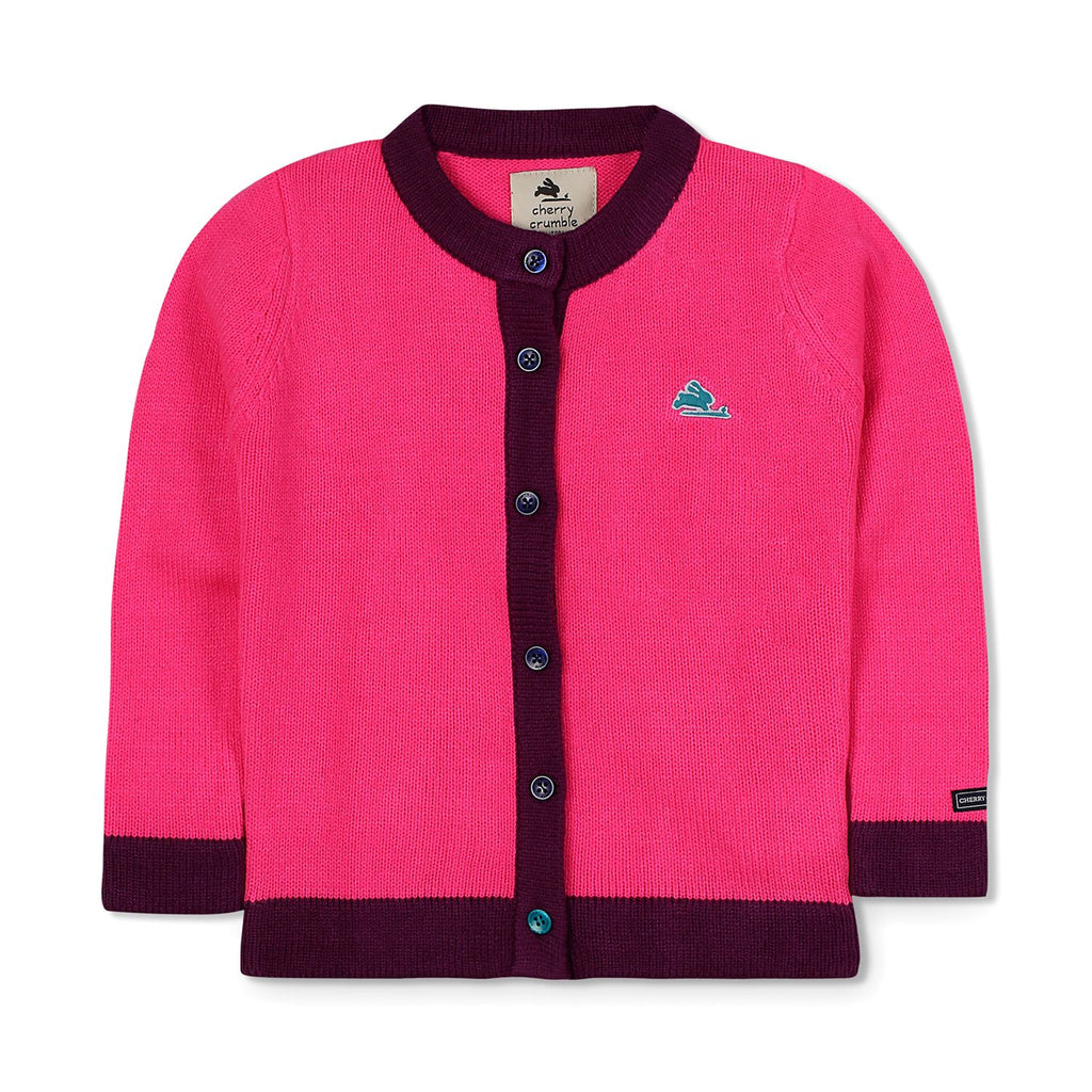 Icon Knit Cardigan for Girls