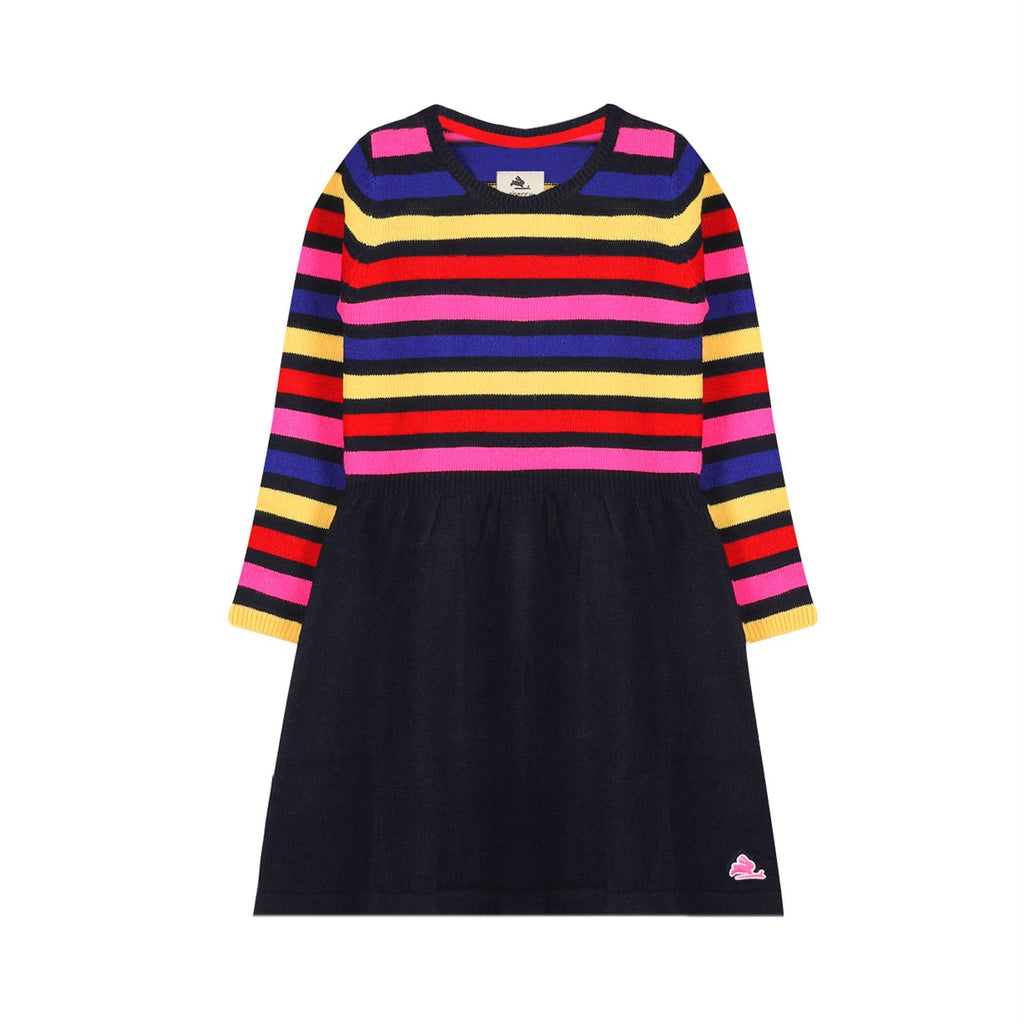 Playful Sweater Dress for Girls