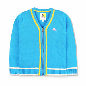Front Zip Cardigan for Boys