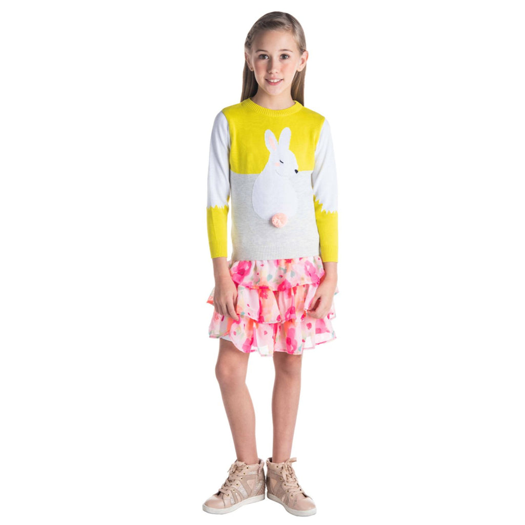 Pom Tail Sweater for Girls