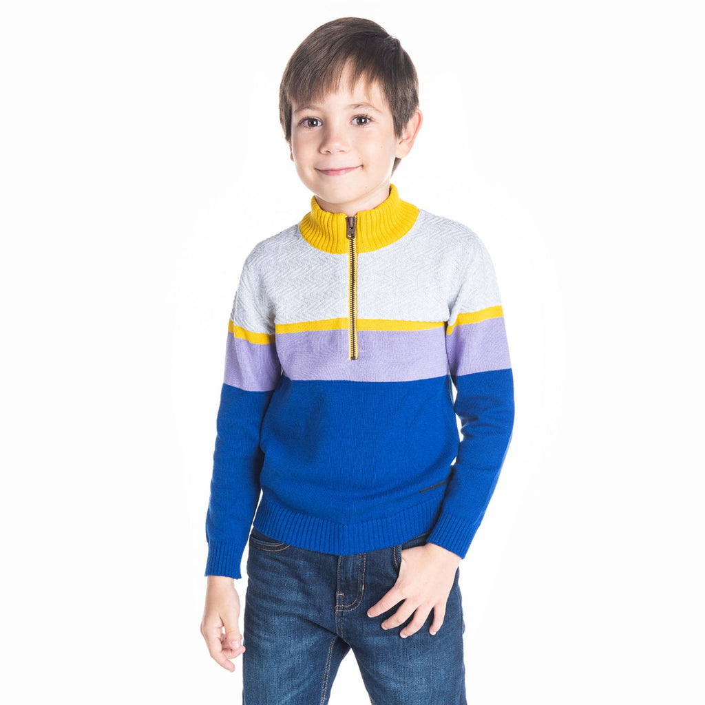 Mockneck Sweater for Boys