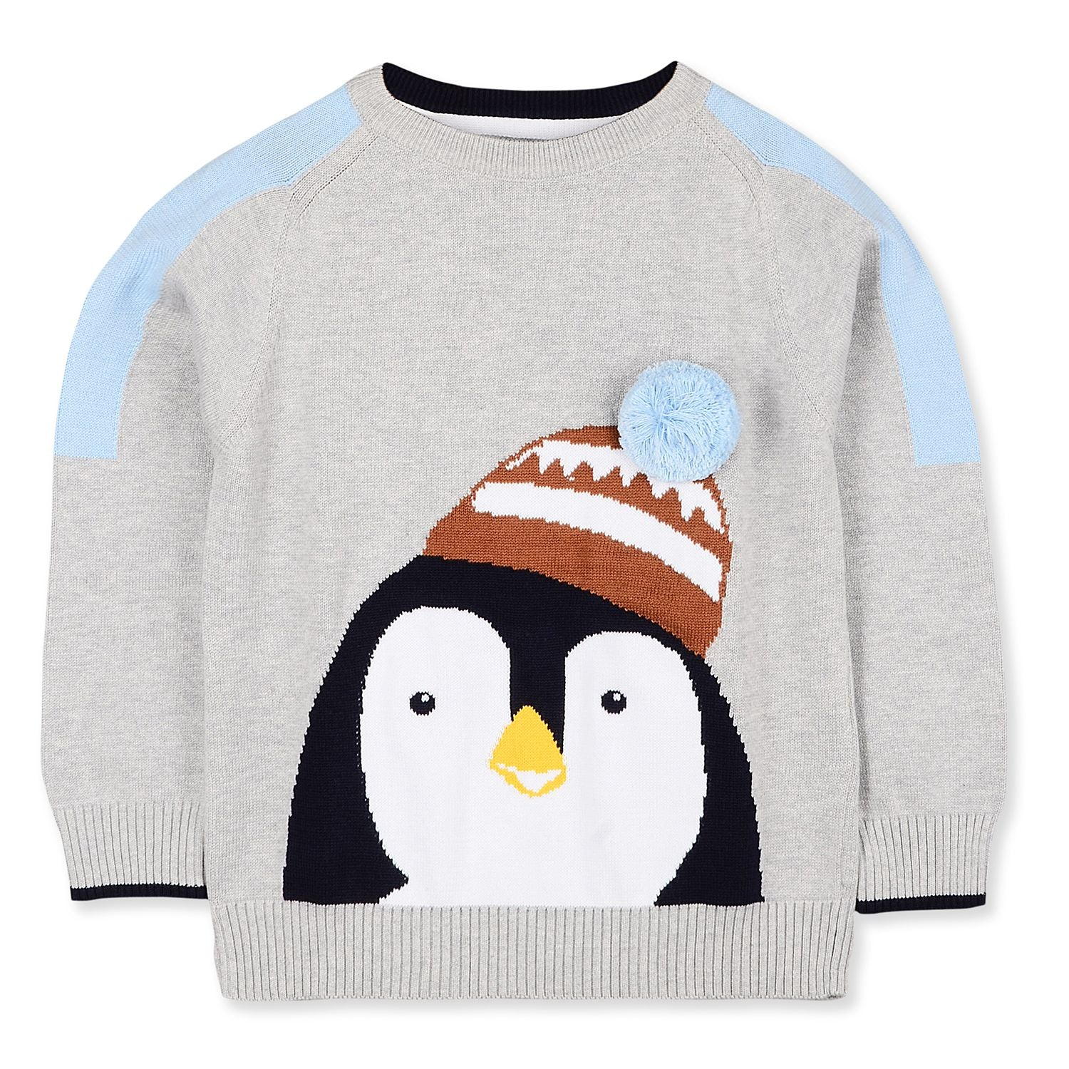 Striking Penguin Sweater for kids