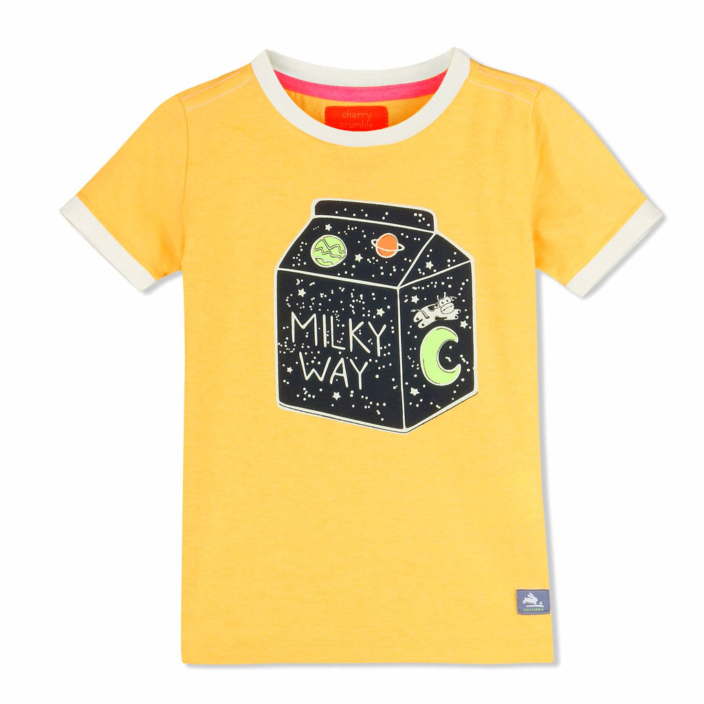 Printed Astro Tee for kids
