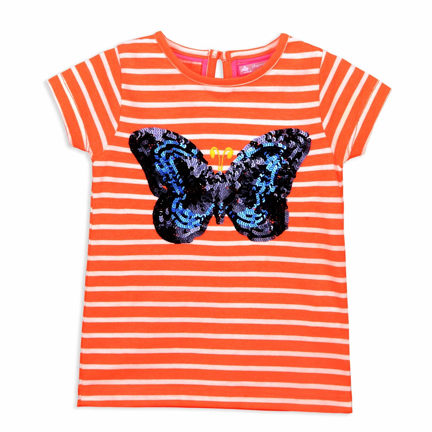 Butterfly Tee for Girls