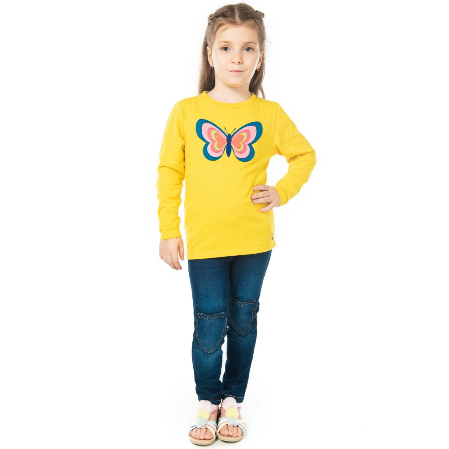 Butterbug Tee for Girls