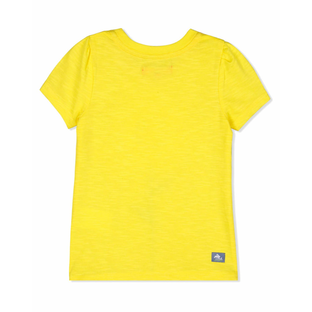 Efflorescence Applique Tee for Girls