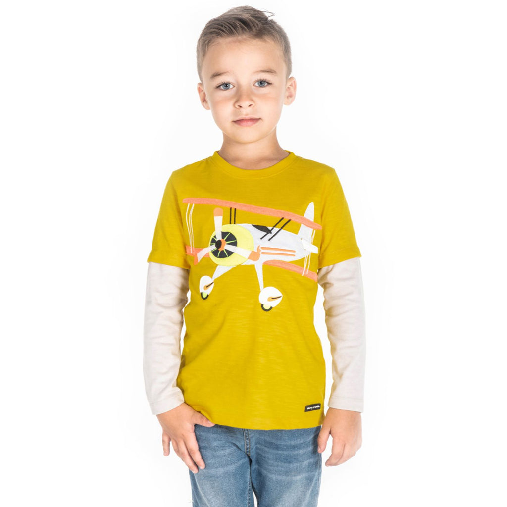 Aero Applique Tee for Boys