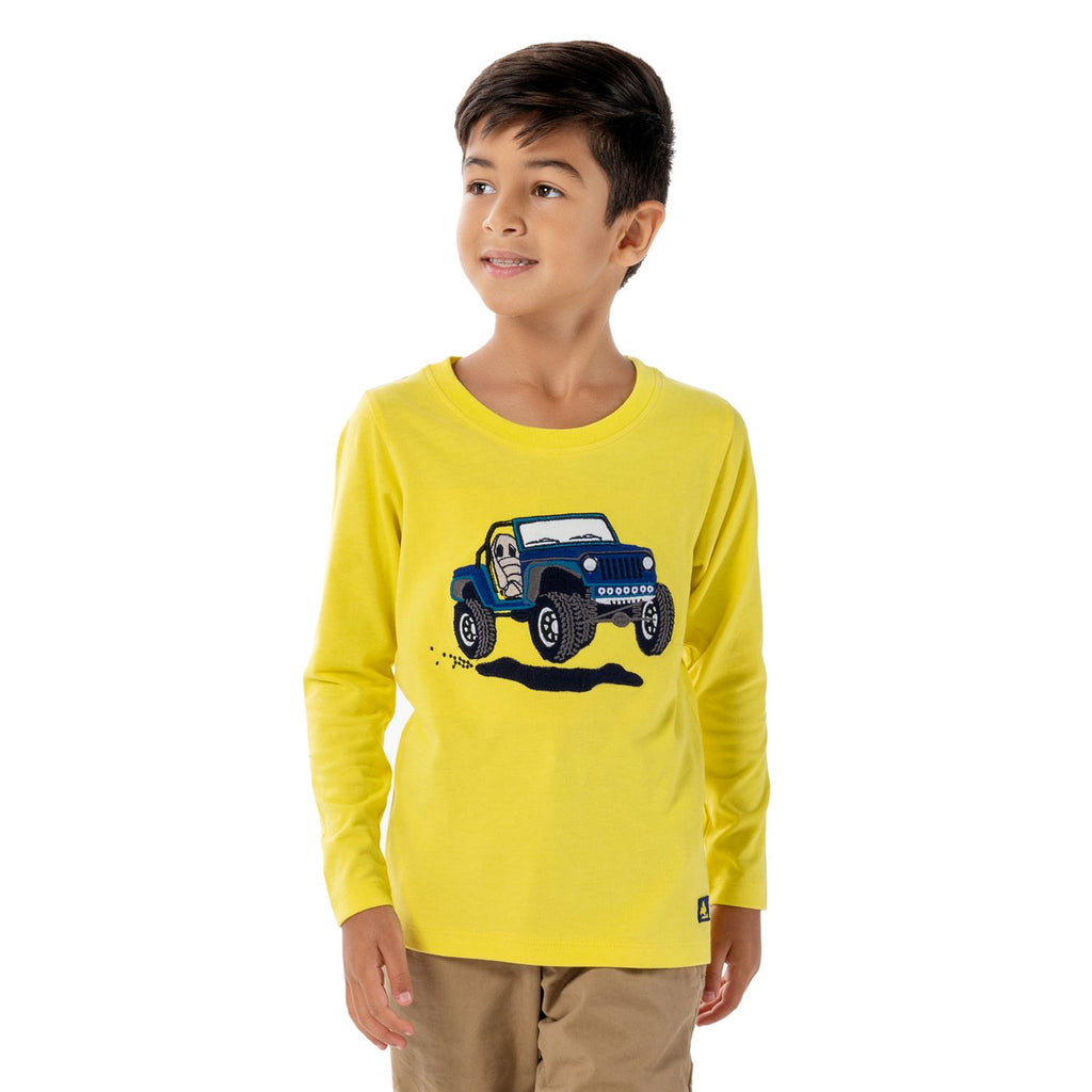 Emblem T-Shirt for Boys
