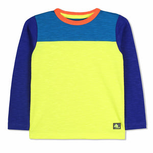 Neon Slub Tee for kids