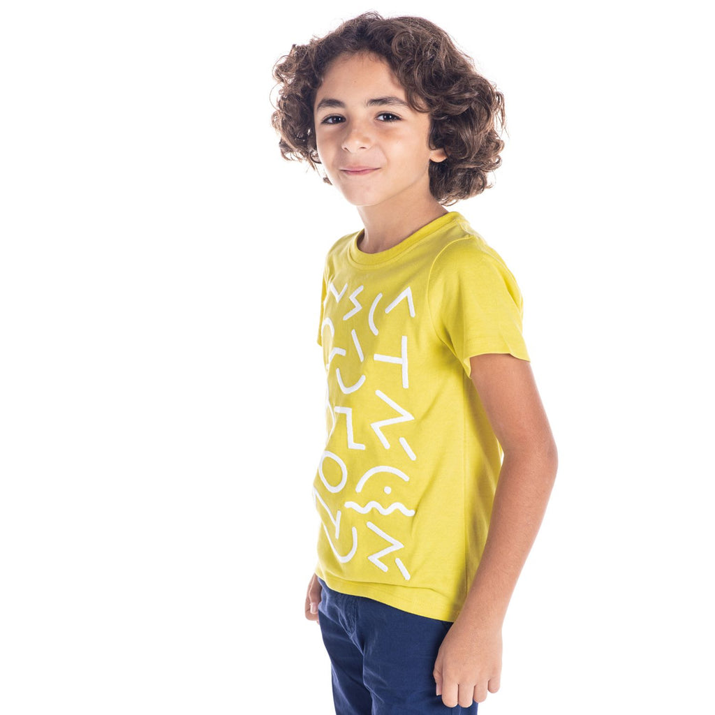 Abstract Tee for Boys