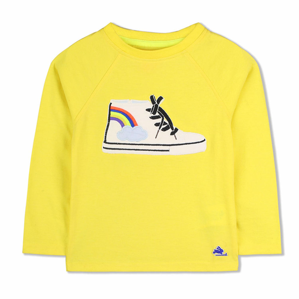 Sneaker Applique Tee for kids